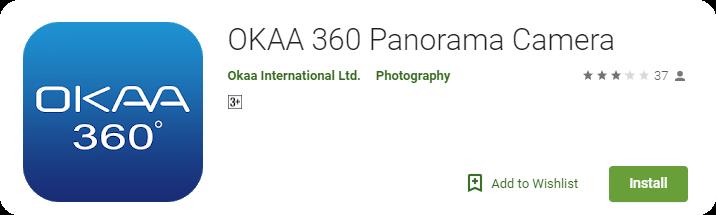 OKAA 360 Panorama Camera