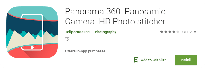 Panorama 360 - Panoramic Camera - HD Photo stitcher.