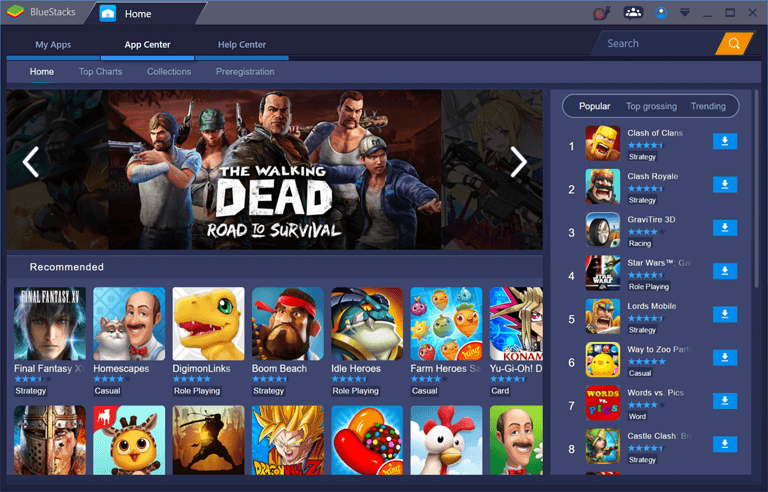 BlueStacks App Centre